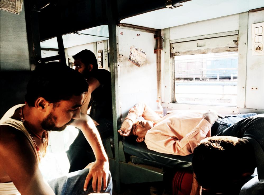 Les différentes classes dans les trains indiens !